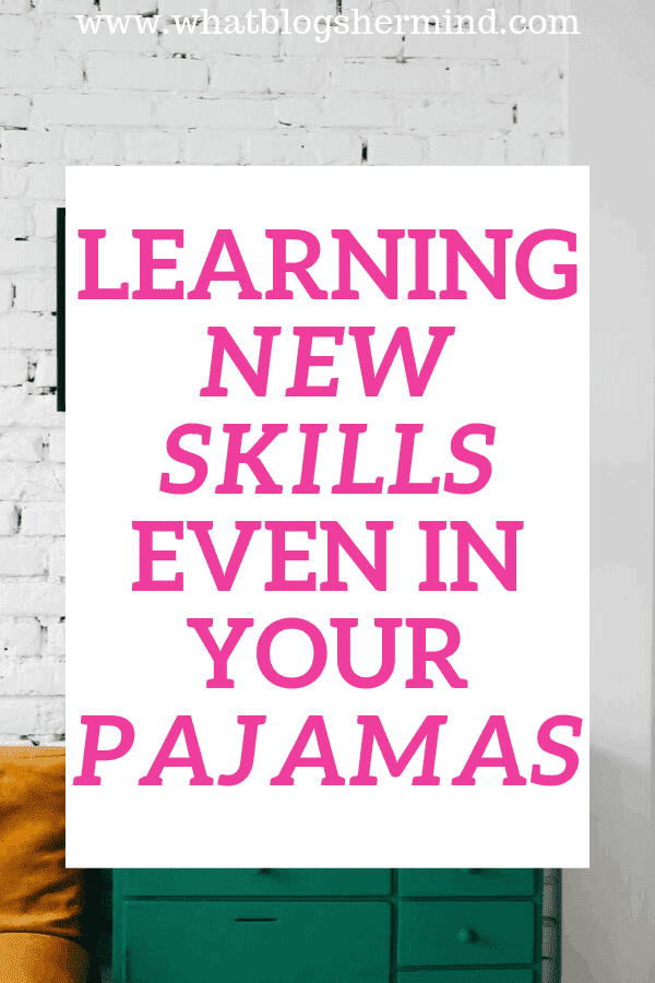 Pinterest for learning new skills at home